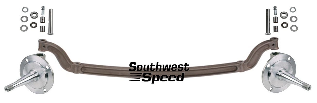 Street Rod Front Axle : New ford quot forged i beam axle spindle king pin