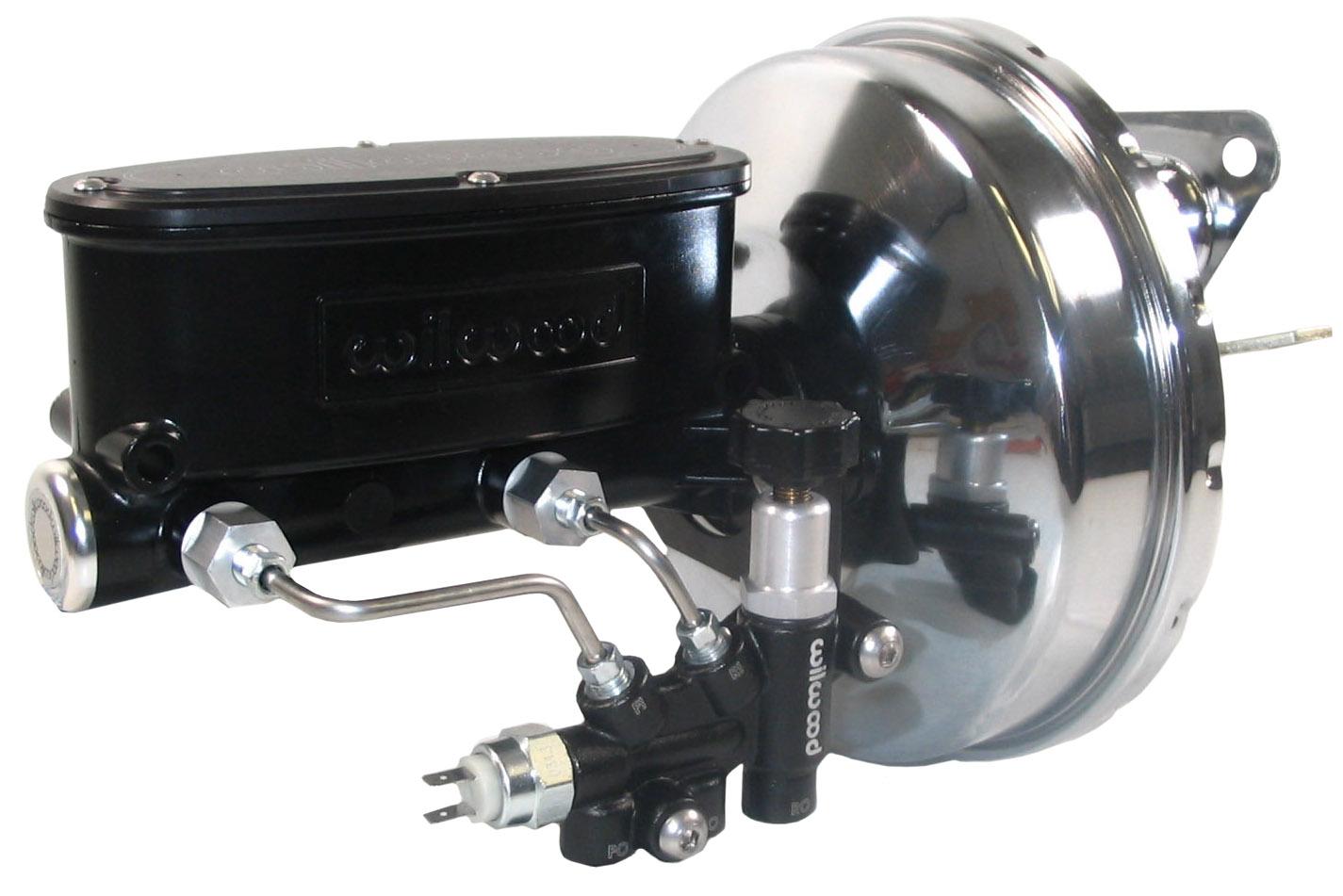 new power brake booster wilwood black master cylinder. Black Bedroom Furniture Sets. Home Design Ideas