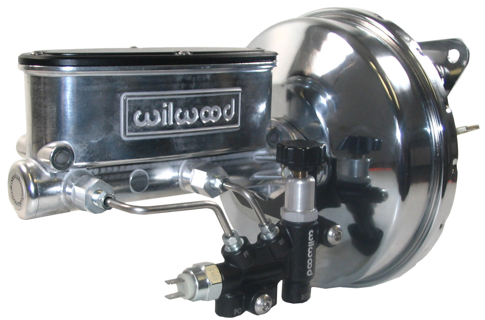 New Power Brake Booster Wilwood Polished Master Cylinder Valve. New Power Brake Booster Wilwood Polished Master Cylinder Valve6770 Mustang Ebay. Corvette. 1977 Corvette Master Cylinder Diagram At Scoala.co