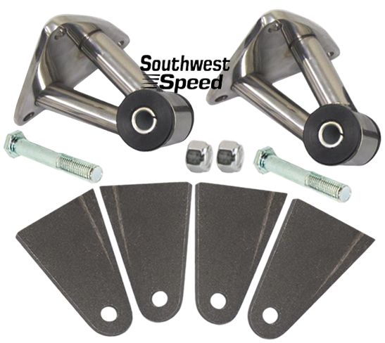 New Sbc Bbc Urethane Engine Mount Kit Chevy Gmc Truck Weld