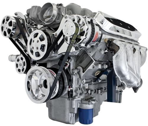 Ls6 Engine Horsepower: BILLET SPECIALTIES TRU TRAC CHEVY LS7 SERPENTINE PULLEY