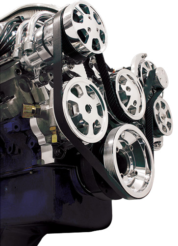 Bsi B on Chevy 350 Water Pump Rotation
