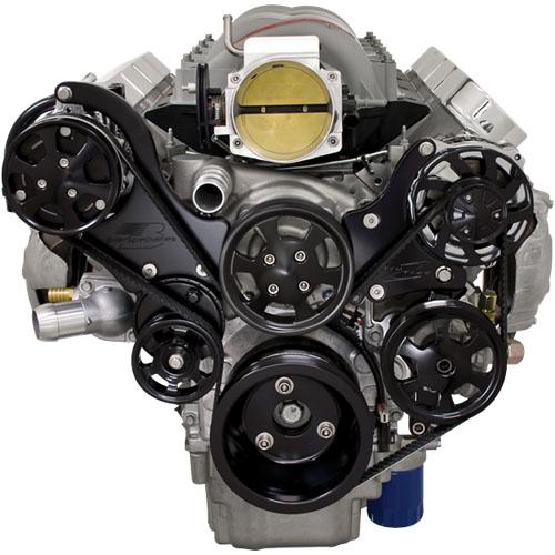 billet specialties tru trac black chevy ls1,ls2,ls3,ls6 ... ls6 engine diagram