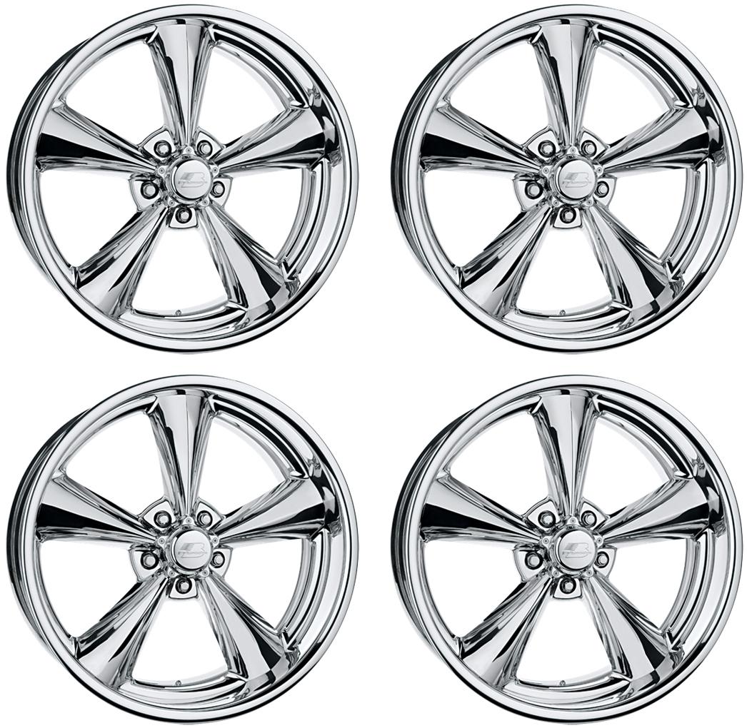 new 17x7 u0026quot  billet specialties mag wheel set legends series