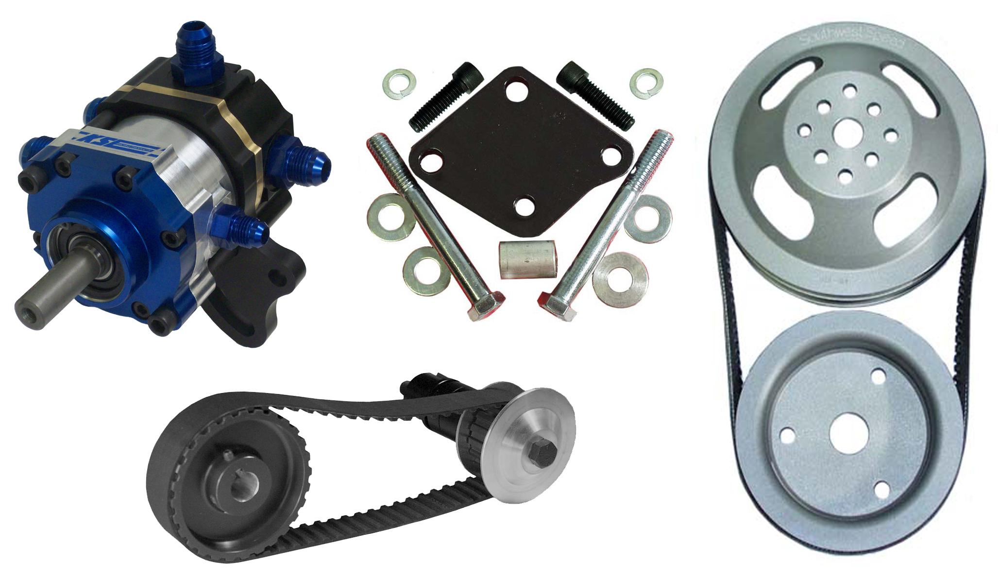 belt drive fuel pump kit  belt  free engine image for user
