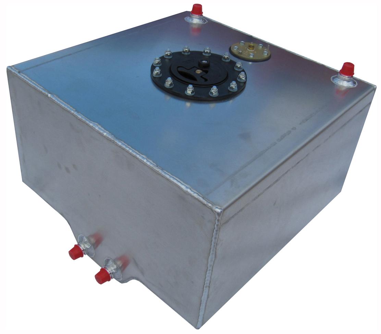New Rci 10 Gallon Street Strip Aluminum Fuel Cell W Foam