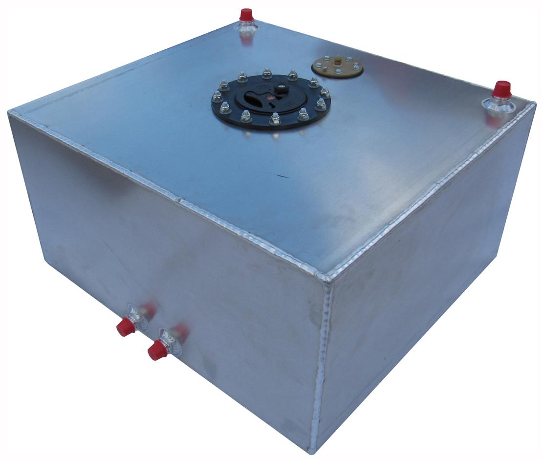 New Rci 15 Gallon Pro Street Aluminum Fuel Cell W Sending