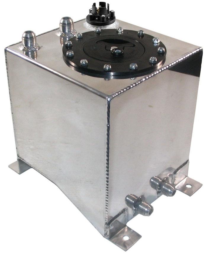 New 2 1 2 Gallon Aluminum Fuel Cell Safety Foam Amp Sending