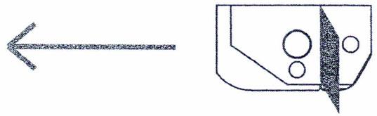 """Van Alstine Deluxe Rpound Bottom Cutting Blades #2  1//16/"""" width"""