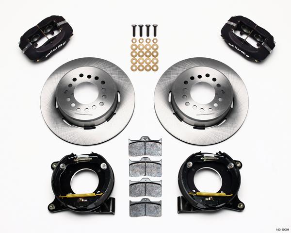 Wilwood Disc Brake Kit Rear Chevy C 10 Truck 2 42 Offset 12 Rotors