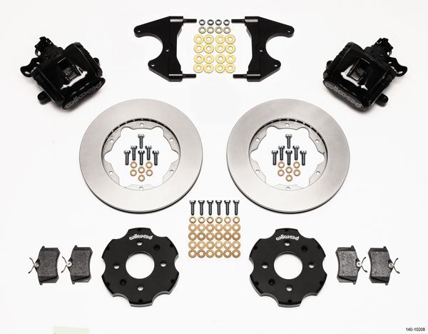 Wilwood Disc Brake Kit Rear Honda Civic 11 10208 Black Calipers