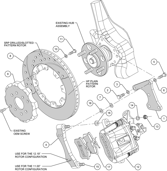 fiat brakes diagram wilwood disc brake kit,honda civic,10736,10211,12