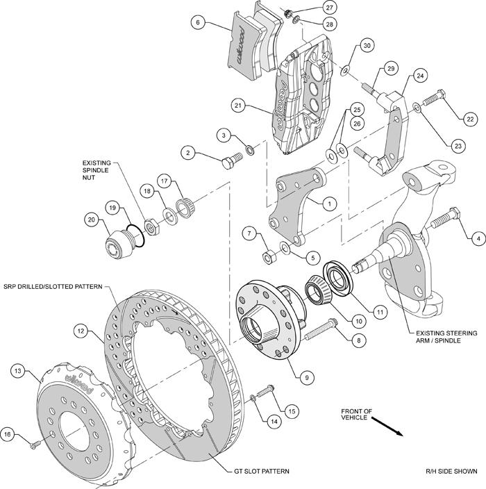 Wilwood Disc Brake Kit Front 58