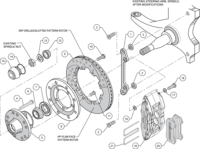 Wilwood Disc Brake Kit 70