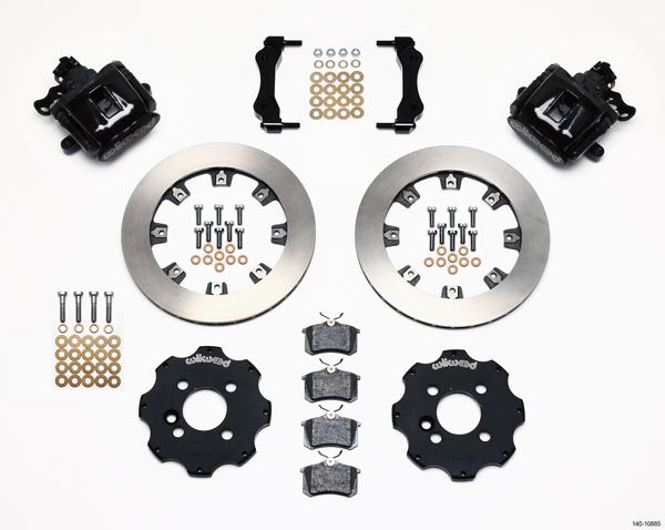 Wilwood Disc Brake Kit Complete Mini Cooper BMW Black Calipers