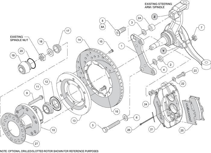 Wilwood Disc Brake Kit 67