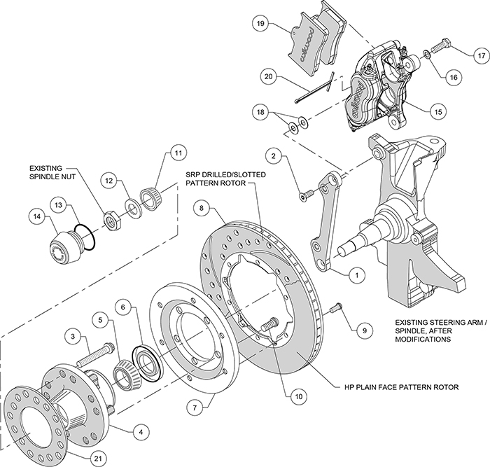 wilwood disc brake kit 70 78 chevy camaro 11 black drl ebay rh ebay com bicycle disc brake parts diagram bicycle disc brake parts diagram