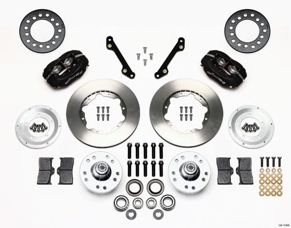 "Wilwood Disc Brake Kit Front 79 86 Chevy Pontiac Oldsmobile Buick 11"" Rotors"