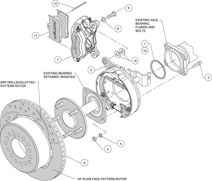 Wilwood Disc Brake Kit 55 4
