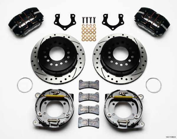 Wilwood Disc Brake Kit Rear Parking Brake Mopar 8 3 4 Dana 60 2 50