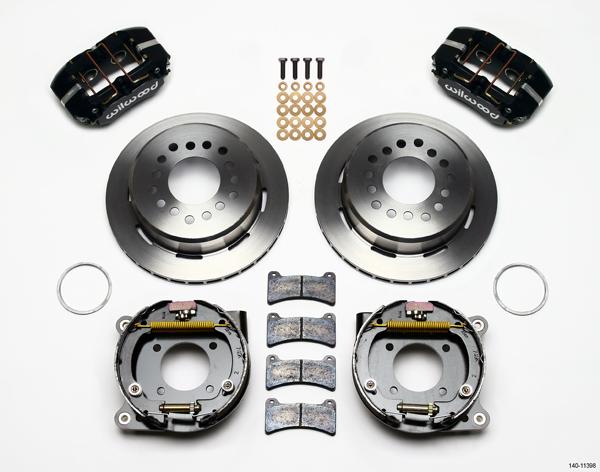 Wilwood Disc Brake Kit 67 69 Chevy Camaro 11 Black