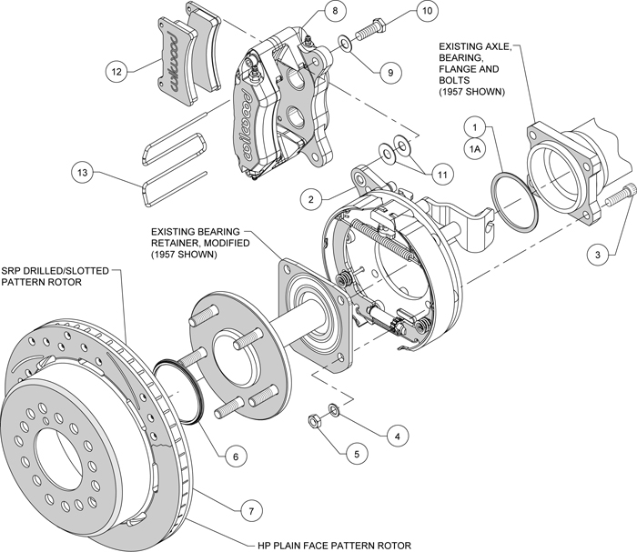 acura brakes diagram wilwood disc brake kit,55-57 chevy 150,210,bel air,11 ...