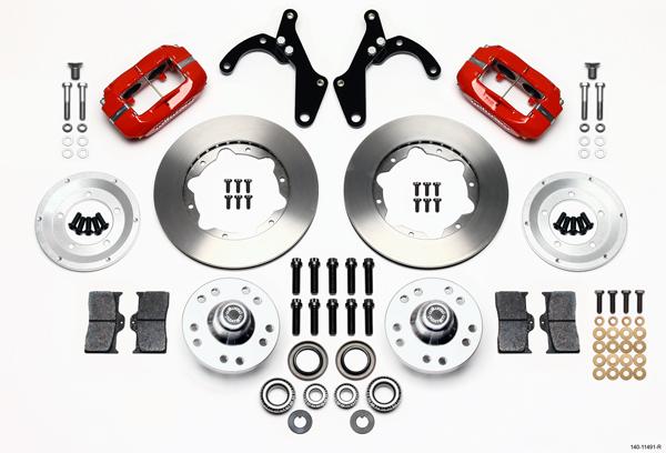 Wilwood Disc Brake Kit Front 55 57 Chevy 150 210 Bel Air 11 Rotors
