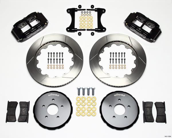 Wilwood Disc Brake Kit Front 09 11 Nissan 370 Z 08 11 Infiniti G35 G37