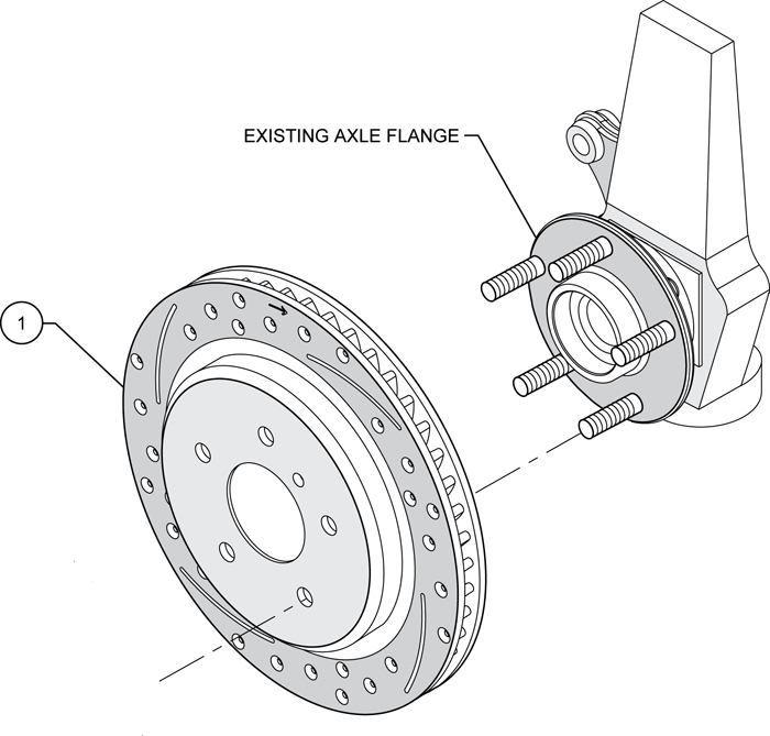 Service manual alfa romeo spider front brake rotor