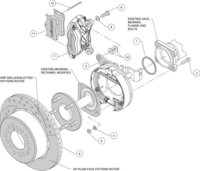 Wilwood Disc Brake Kit 59