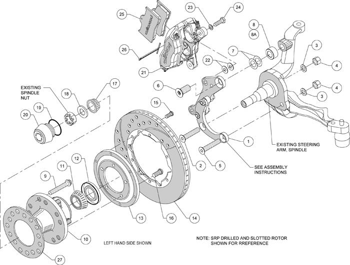 Wilwood Disc Brake Kit 69