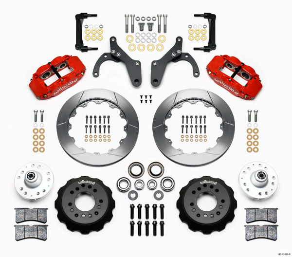 Wilwood Disc Brake Kit Front 59 64 Impala 63 64 Corvette 13 Rotors