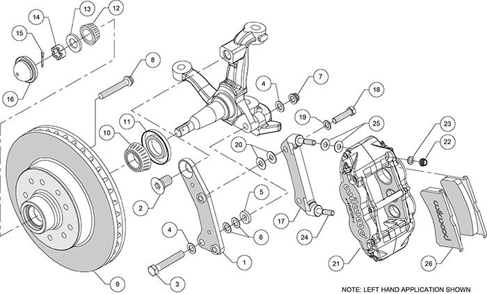 Wilwood Disc Brake Kit 64