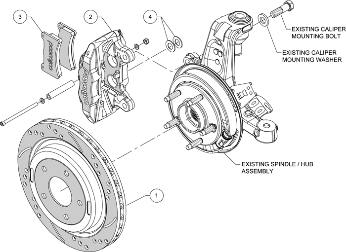 Wilwood Disc Brake Kit 1997