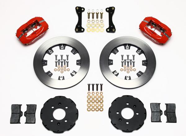 Wilwood Disc Brake Kit Honda Civic Coupe HB Sedan 6163 10209 12 Red