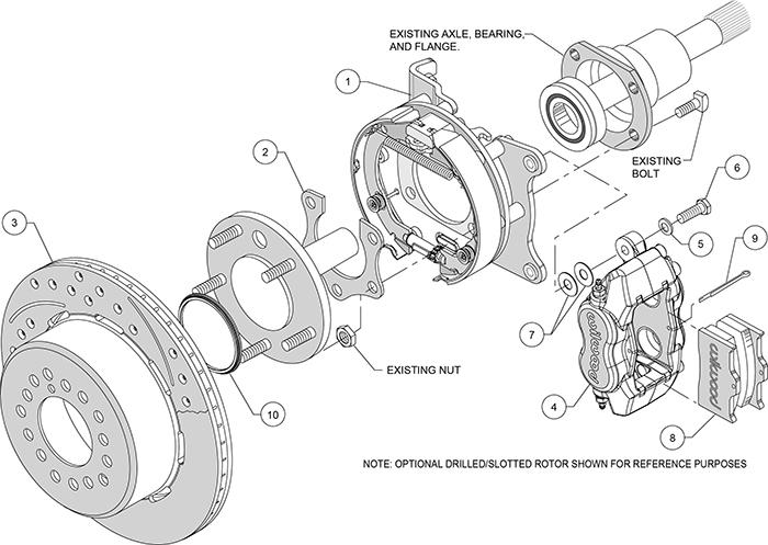 wilwood disc brake kit 70 72 cdp b & & e body w drums 13 & 034 12 &  : disc brake diagram - findchart.co
