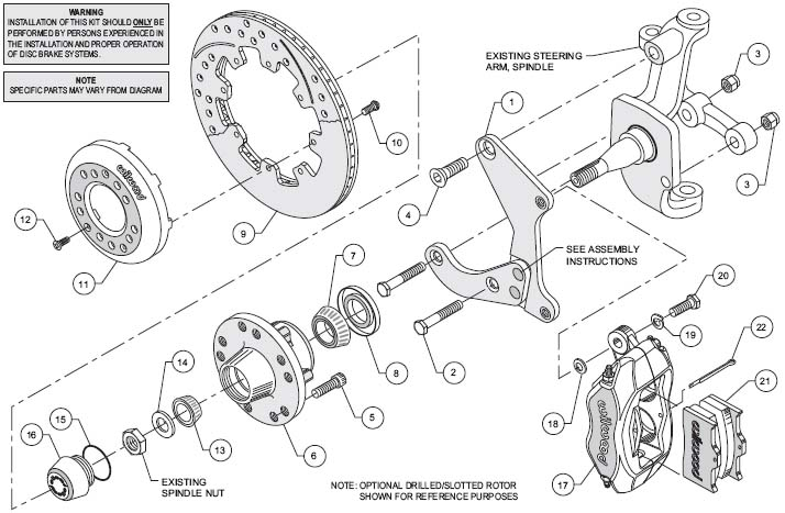 Wilwood Disc Brake Kit 55