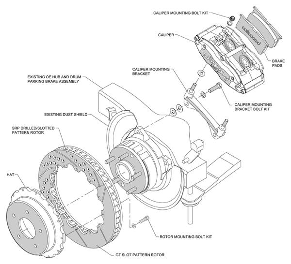 Wilwood Disc Brake Kit 97