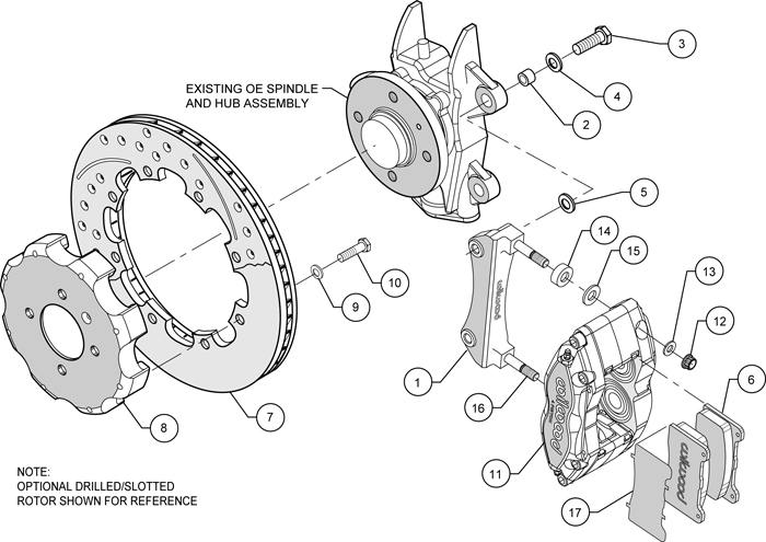 Wilwood Disc Brake Kit Complete Mini