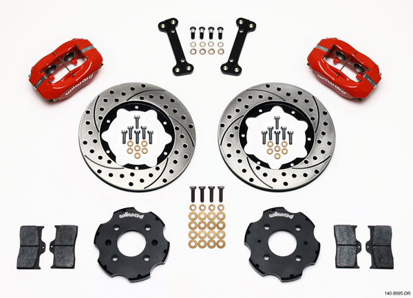 Wilwood Disc Brake Kit Honda Civic Coupe HB Sedan 11 Drilled Rotors