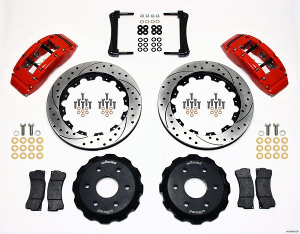 Wilwood Disc Brake Kit 01 11 Silverado Avalanche Sierra 1500 2PIS 16