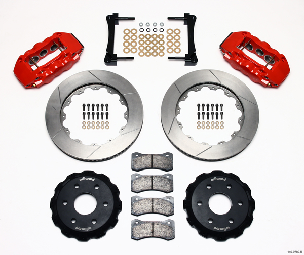 Wilwood Disc Brake Kit Cadillac Escalade ESV Ext 9789 9407 14 Red