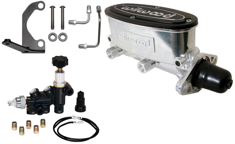 new power brake booster wilwood polished master cylinder valve jeep cj5 cj7 ebay. Black Bedroom Furniture Sets. Home Design Ideas