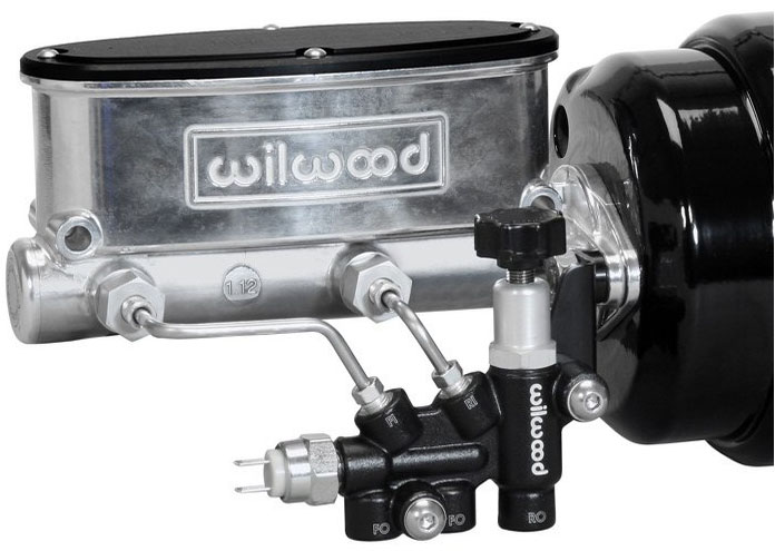 wilwood adjustable combination proportioning valve w bracket amp shown below mounted to a wilwood tandem master cylinder