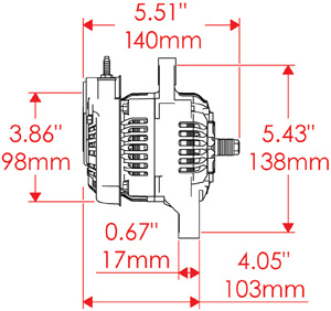 denso one wire alternator diagram denso image southwest speed manufacturing warehousing and distributing on denso one wire alternator diagram